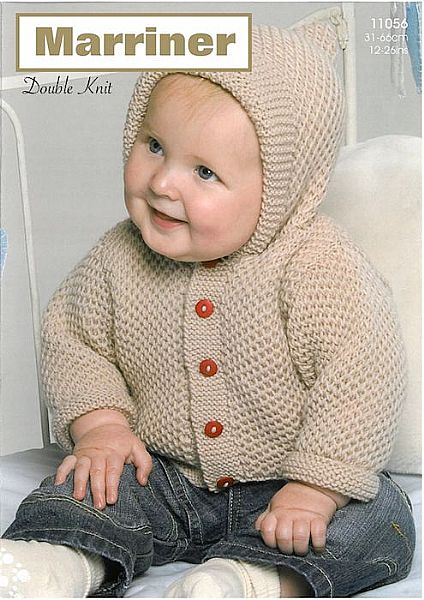 11056 Hooded Jacket in DK