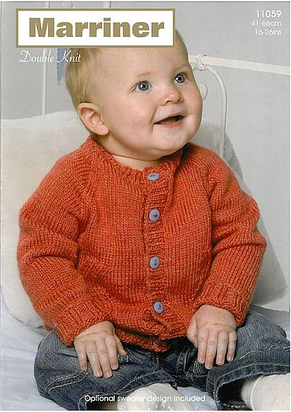 11059 Sweater and Cardigan in DK