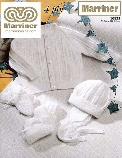 10822 Babys Outdoor Set in 4ply