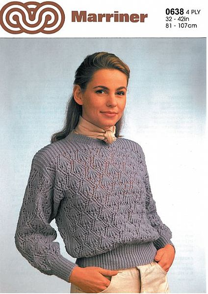 M0638 Sweater in 4ply