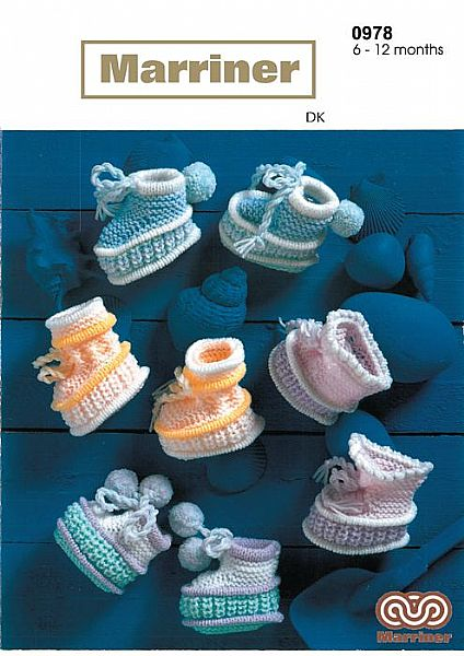 M0978 Baby Boots in DK
