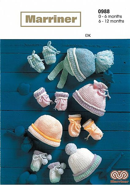 M0988 Hats & Mitts in DK