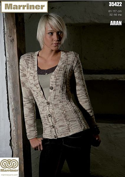 35422 Jacket in Aran