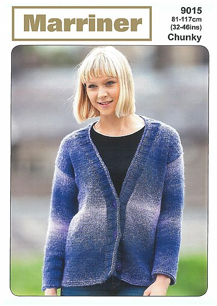 9015 Regency Cardigan in Chunky