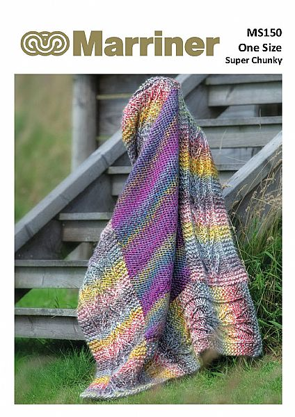MS150 Tree panel Super Chunky pdf Knitting pattern