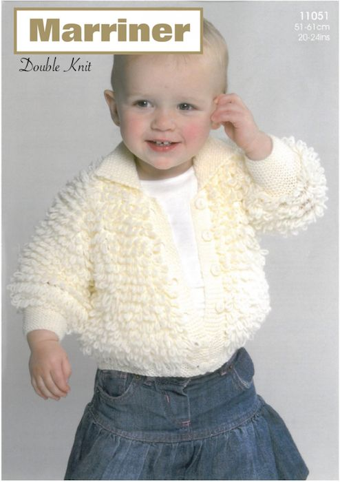 11051 Loopy Jacket And Bonnet Marriner Yarns