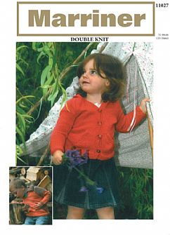 11027 Collared Tunic and Hooded Jacket in DK