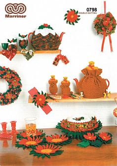 M0798 Christmas Novelties Crochet Pattern in DK
