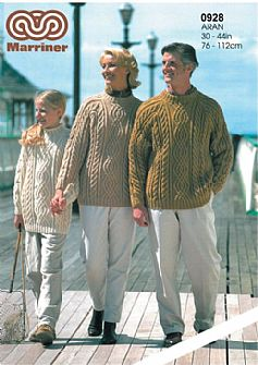 M0928 Sweaters in Aran