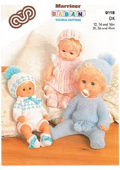 M0118 Dolls' Outfits in DK