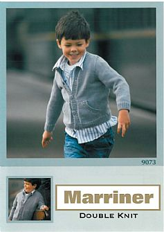 M9073 Knitted Childs Jacket in Dk