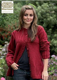 35401 Jacket in Aran