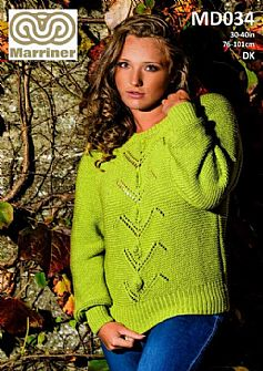 MD034 Long Sleeved Sweater in DK