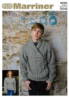 MC001 Mens Sweater in Chunky