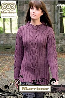 35523 Tunic in Marriner Aran