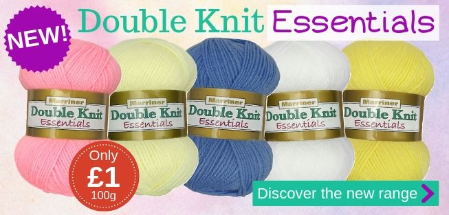 NEW Double Knit Essentials range | 5 core colours at only £1