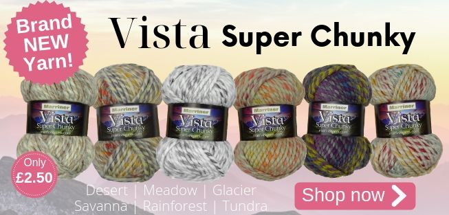 Brand NEW Vista Super Chunky Yarn | Only £2.50