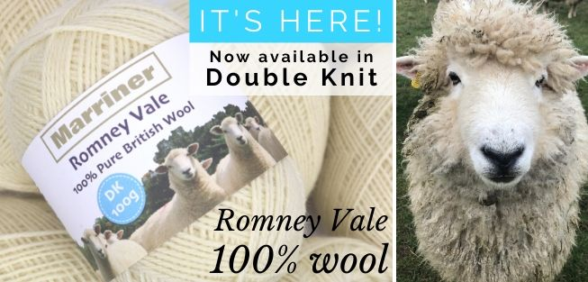 Romney Vale 100% pure British wool now in Double Knit | Only �4.95 | Shop now