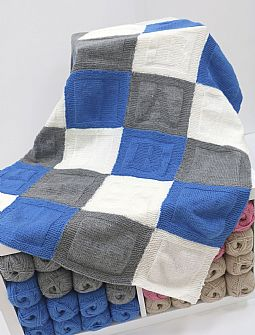 Sleepy Baby Knitted Double Knit Blanket Kit
