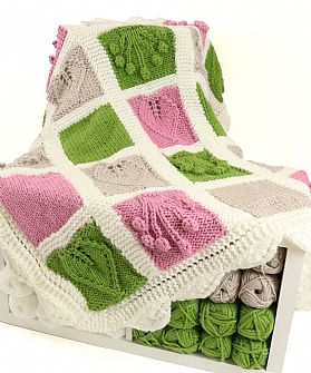 Botanical Knitted Super Chunky Blanket Kit