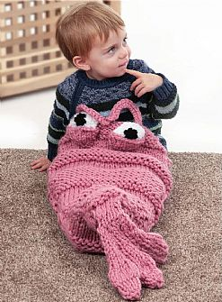 Shrimp Super Chunky Cocoon Knitting Kit