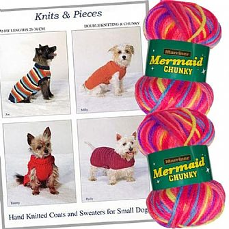 Chunky easy-fasten dog coat kit
