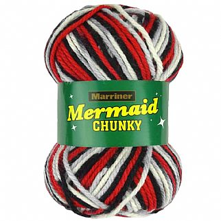 Marriner Mermaid Chunky Knitting & Crochet Yarn 100g