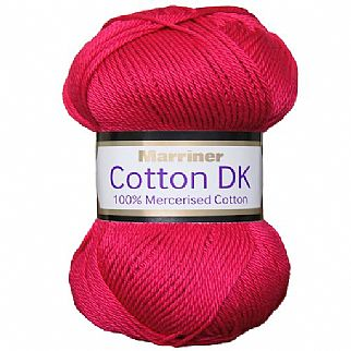 Marriner Mercerised DK Cotton 100g