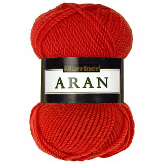 Marriner Aran Knitting & Crochet Yarn 100g