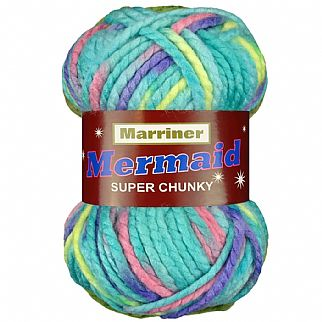 Marriner Mermaid Super Chunky Knitting & Crochet Yarn 100g
