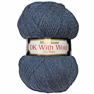 Marriner DK with British Wool 100g