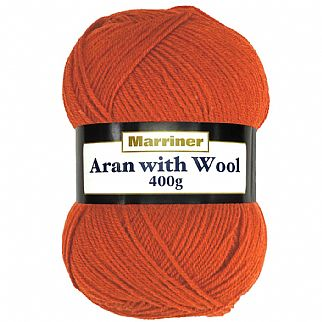 Marriner Aran with Wool 400g