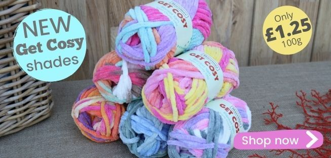 Marriner Yarns | Colours back in Chunky, Double Knit, Supersoft Baby