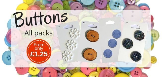 Marriner Yarns | Button Packs from only £1.25