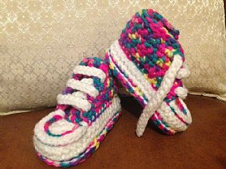Made with Marriners | Cute and colourful kick in Mermaid yarn by Sammy Butten